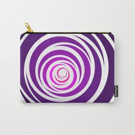 Spinnin Round Purple Carry-All Pouch