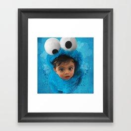 LEVi (cookie monster) Framed Art Print
