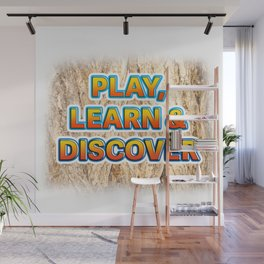 Play, Learn & Discover Wall Mural
