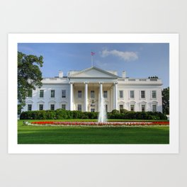 White House Art Print