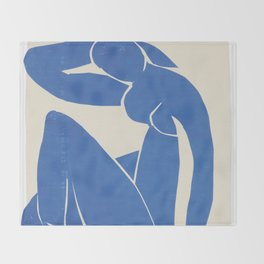 Blue Nude by Henri Matisse  Throw Blanket