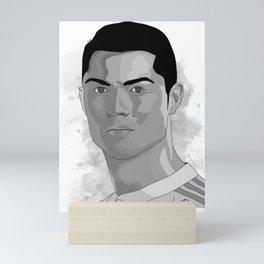 𝓒𝓻𝓲𝓼𝓽𝓲𝓪𝓷𝓸 - Ronaldo - 𝓡𝓸𝓷𝓪𝓵𝓭𝓸 Cristiano - Dos Santos Aveiro - Futbol - Soccer - 5543 Mini Art Print