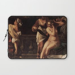 Artemisia Gentileschi - Bathsheba Laptop Sleeve