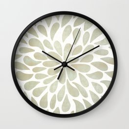 Petal Burst #3 Wall Clock