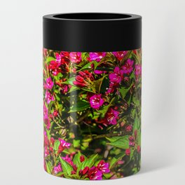 Purple Flowers Can Cooler