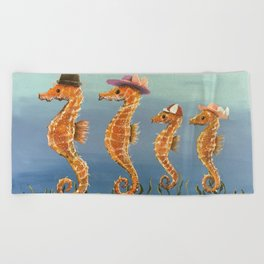 Family Outing Beach Towel