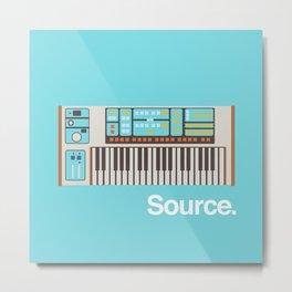 Moog Source Metal Print