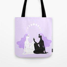 moon sisters Tote Bag