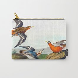 Red Phalarope Bird Carry-All Pouch
