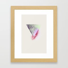 Wounded Waves Framed Art Print