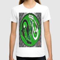 ying yang T-shirts featuring ying yang by Nerd Artist DM