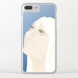 Leave Clear iPhone Case