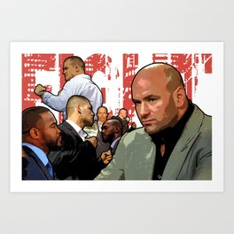 UFC Fight Empire Art Print