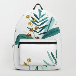 Fresh Cut Flowers 3 - Floral Backpack