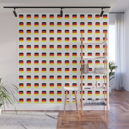 Flag of Germany -with soft square Wall Mural