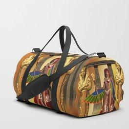 Wonderful egyptian women Duffle Bag
