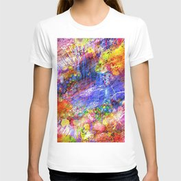 Colored Pattern T-shirt