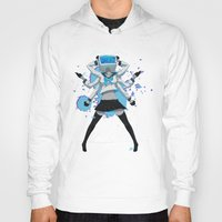 vocaloid Hoodies featuring What the hell's going on?! by Helixel