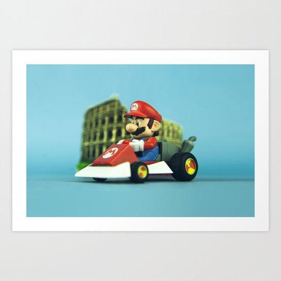 Super Mario: the homecoming Art Print