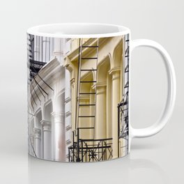 Fire Escapes of SoHo NYC Coffee Mug