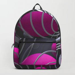 3D - abstraction -117- Backpack