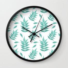 Leaf No.1 Pattern Wall Clock