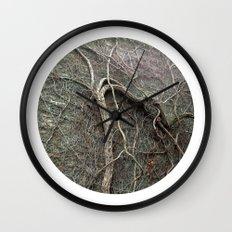 Planetary Bodies - Vines Wall Clock