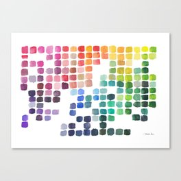 Favorite Colors Canvas Print