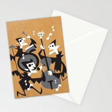 The Jazz Bats Stationery Cards