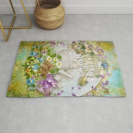 Easter Breakfast Rug