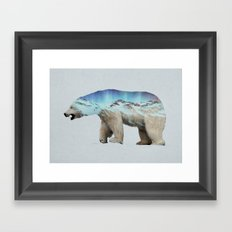 The Arctic Polar Bear Framed Art Print