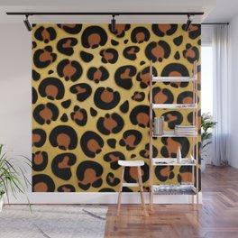 Jaguar Fur Pattern Wall Mural