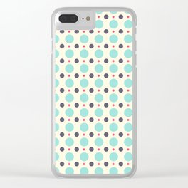 Dots (planets) Clear iPhone Case