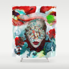 Now You Can See Me Shower Curtain
