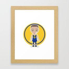 Steph Curry Framed Art Print
