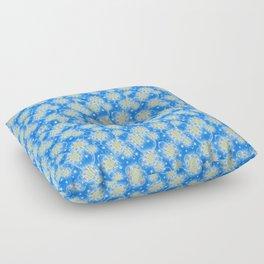 Inspirational Glitter & Bubble pattern Floor Pillow