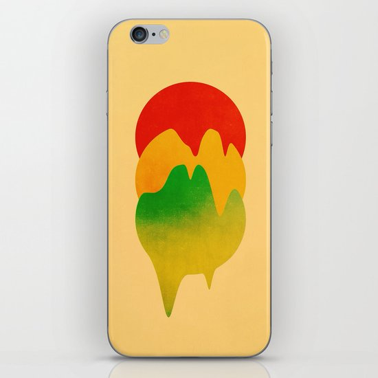 Dripping Colors iPhone & iPod Skin