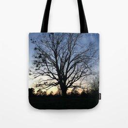 arkansas spring at sunset Tote Bag