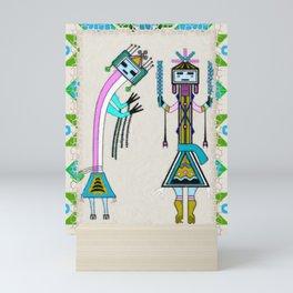 Ceremonial Native American Mini Art Print