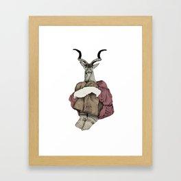 John Framed Art Print