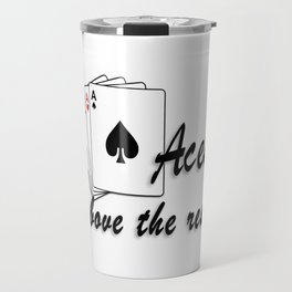 Aces Above the Rest Travel Mug