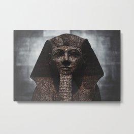 Pharaon Marbre Metal Print