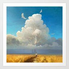 Nature Salvation Art Print