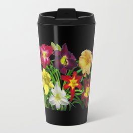Display of daylilies I Travel Mug