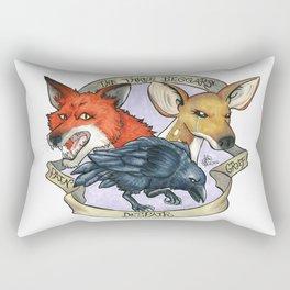 The Three Beggars Rectangular Pillow