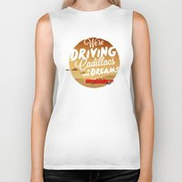 lorde Biker Tanks featuring We're Driving Cadillacs In Our Dreams - Lorde: Royals  by Four & Thirty