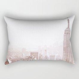 New York City Late Afternoon Rectangular Pillow