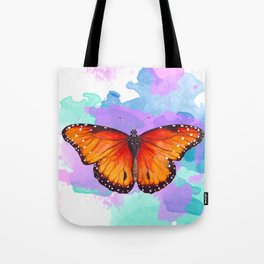 Sunset Fireflies Tote Bag