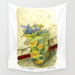 A Bag of Pineapples Wall Tapestry