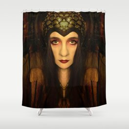 Tamed and torn Shower Curtain
